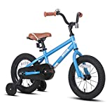 JOYSTAR 14 Inch Kids Bike for 3 4 5 Years Boys Girls Gifts Children Bicycle with Training Wheels Coater Brake BMX Style Blue