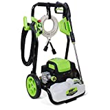 Titans 4500PSI 3.5GPM Electric Power Washer,Electric Pressure Washer with 4 Quick-Connect Spray Tips and Wand,Car Washer with GFCI Plug(Green)
