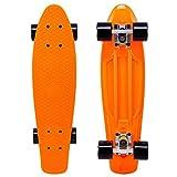 Cal 7 22.5' Complete Mini Cruiser Plastic Skateboard (Monarch)