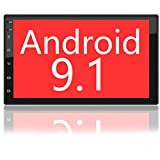 Binize 7 Inch HD Double Din Touchscreen Android Car Stereo Multimedia Radio, Navigation Receiver, Bluetooth, Audio, WiFi iOS&Android Phone, Mirror Link, Support Revesing Camera (2G RAM+32G ROM)