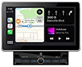 Dual Electronics DMCPA11BT 10.1' Extra Large Touchscreen Media Receiver with Apple CarPlay and Android Auto l Built-in Bluetooth with A2DP Music Streaming and Phonebook Support