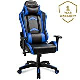 Merax Gaming Chair Computer Home Desk Chair Racing Comfy Office Chair Ergonomic High Back Reclining Executive Chair Comfortable for Gamers Teens/Adult/Kids