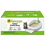 Purina Tidy Cats Breeze Cat Litter Box System Starter Kit, Breeze Cat Litter System With Pads & Pellets
