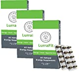 Lurra Life LurraFit Capsules | Natural Energy Supplement with Appetite Suppression (3 Boxes)