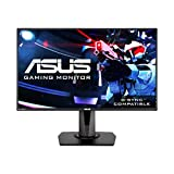 Asus VG278Q 27' Full HD 1080P 144Hz 1ms Eye Care G-Sync Compatible Adaptive Sync Gaming Monitor with DP HDMI DVI