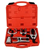 DAYUAN 5pcs Professional Front End Service Tool Kit, Pitman Arm Puller, Ball Joint Separator Tie Rod Remover Tool