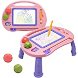 Toddler Toys,Toys for 1-2 Year Old Girls,Magnetic Drawing Board,Magna Erasable Doodle Board for Kids,Toddler Baby Toys 18 Months to 3 Girls Boys