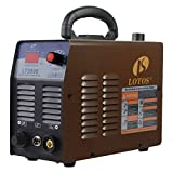 Lotos LT3500 35 Amp Air Plasma Cutter, 2/5 Inch 10 mm Clean Cut, 110V/120V Input with Pre Installed Air Filter Regulator with NPT Quick Connector, Brown