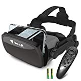 VeeR Falcon VR Headset with Controller, Eye Protection Virtual Reality Goggles to Comfortable Watch 360 Movies for Android, Samsung, Huawei(only for 4.7-6.0inch)