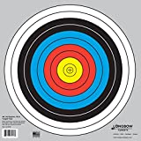 Archery 40cm & 80cm Targets by Longbow (20 Pack, 40cm/Approx 17' (10 Ring))