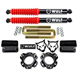 WULF 3' Lift Kit with Rear Extended Shocks compatible with 1995-2004 Toyota Tacoma 6LUG 2WD 4X4