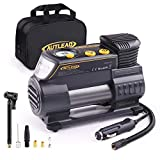 AUTLEAD C2 Tire Inflator Air Compressor Pump 12V DC Portable Multifunctional Tire Pump with Digital Gauge for Car Bike Tires and Other Inflatables