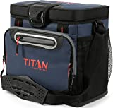 Arctic Zone Titan Deep Freeze 16 Can Zipperless Cooler, Blue