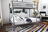 Novogratz 4146429N Maxwell Metal Bunk Bed, Twin over Full