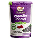 Healthy Delights Naturals, Appetite Control Soft Chews, Garcinia Cambogia, L Carnitine, Green Tea, White Kidney Bean Blend, Delicious Acai Berry Flavor, 30 Count