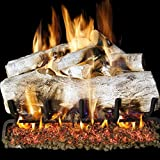 Peterson Real Fyre 30-inch Mountain Birch Gas Logs Only No Burner