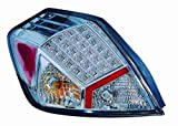 DEPO M15-1902P-ASV Replacement Tail Light Set (This product is an aftermarket product. It is not created or sold by the OE car company)