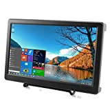 Elecrow 10.1 Inch Raspberry Pi 1920X1080p Resolution HDMI VGA Display Monitor IPS Gaming Screen with Build-in Speakers Compatible with Raspberry Pi 4B/3B+/3B WiiU Xbox 360 Windows 7/8/10
