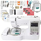 Brother SE600 Computerized Sewing and Embroidery Machine Bundle with 4' x 4' Embroidery Area