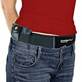 ComfortTac Belly Band Holster for Deep Concealed Carry Belt -Compatible with Pistol, Glock, 9mm, More -IWB OWB Appendix CCW -Men & Women