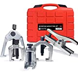 Thorstone 5Pcs Ball Joint Separator,Pitman Arm Puller,Tie Rod End Puller-Remover Tool for Front End Service Tool Kit