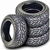 Set of 4 (FOUR) Mazzini Mud Contender Mud Tires-LT275/65R18 123/120Q LRE 10-Ply