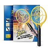 Zap It Bug Zapper Battery Powered (2xAA Included) Bug Zapper Racket, 3,500 Volt