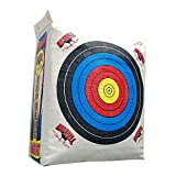 Morrell Weatherproof Supreme Range Adult Field Point Archery Bag Target with NASP Scoring Rings, Nucleus Center, and IFS Technology, White