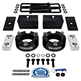 Supreme Suspensions - Full Lift Kit for 2005-2020 Toyota Tacoma 3' Front Lift Strut Spacers + 3' Rear Lift Blocks + Square Bend U-Bolts + Axle Alignment Shims