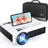 VANKYO Leisure 3W Mini Projector with Synchronize Smartphone Screen, Portable WiFi Projector Supports 1080P for iOS/Android Devices, Compatible with TV Stick, PS4, HDMI for Home & Outdoor
