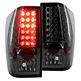 Spec-D Tuning LT-TIT04GLED-TM Nissan Titan xe se le Smoke Crystal Led Tail Lights Pair