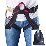Climbing Half Body Harness Seat Belt for Rock Climbing Mountaineering Safety