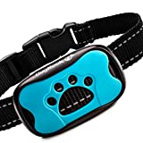 DogRook Rechargeable Bark Collar - Humane, No Shock Training Collar - Action Without Remote - Vibration & Sound Care Modes - for Small, Medium, Large Dogs Breeds - No Harm Deterrent Vibrating Control