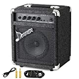 Donner 15W Bass Guitar Amplifier DBA-1 Electric Practice Bass Combo AMP with cable