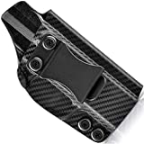 Concealment Express IWB KYDEX Holster fits Glock 17/19/19X/22/23/26/27/31/32/33/45 (G1-5) | Right | Carbon Fiber Black