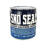 Atsko Sno-Seal 1330 Original Beeswax Waterproofing(7 Oz Net Weight/ 8 Oz Overall Weight)