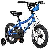 Schwinn Koen Boys Bike for Toddlers and Kids, 14-Inch Wheels, Blue