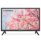 SANSUI 24 Inch TV 720P Basic S24 LED HD TV High Resolution Flat Screen Television Built-in HDMI,USB,VGA Ports - Refresh Rate 60Hz (2021 Model)