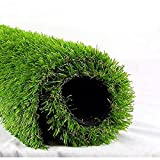 """ALTRUISTIC Artificial Grass 6FTX8FT(48 Square Feet), Realistic Fake Grass Deluxe Turf Synthetic Thick Lawn Pet Turf, 1 3/8"""" Height, Outdoor Decor, Customized"""