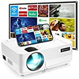 VANKYO Leisure 470 Mini WiFi Projector w/ 100 Inch Projection Screen, Full HD 1080P & 250' Display Supported, 2021 Upgraded Movie Projector for Outdoor & Indoor, Compatible with TV Stick & iPhone
