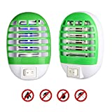 Innoo Tech Bug Zapper, 2020 New Electronic Mosquito Killer Lamp Insect Trap Eliminates Most Flying Pests for Home Bedroom, Kitchen and Office (2 Pack)