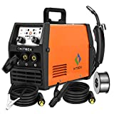 HITBOX Mig Welder ARC Lift Tig Mig Galess3 In 1 220V 120A No Gas Flux Core Wire IGBT Multi Function Welding Machine (Model: HBM1200)