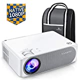 VANKYO Performance V630 Native 1080P Full HD Projector, 6800 LUX 300' LED Projector w/ ±45° Electronic Keystone Correction, Compatible w/ TV Stick, HDMI, Laptop, Smartphone for Home/Business Use