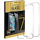 Kollea 9H Ballistic Nano Tempered Glass Screen Protector for Apple iPhone 7 4.7', Pack of 2