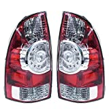 labwork LED Tail Light Lamp Assembly for 2005-2015 Toyota Tacoma Tail Lights Brake Lamps Taillight Aftermarket