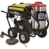 NorthStar Gas Wet Steam and Hot Water Pressure Power Washer - 3000 PSI, 4.0 GPM, Honda Engine