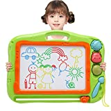 Magnetic Drawing Doodle Board for Kids, Toddler Toys for 3 4 5 Year Old Girls Boys,Large Etch A Magnet Sketch
