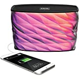 iHome iBT84 Portable Splashproof Color Changing 10 Hour Rechargeable Bluetooth Stereo Speaker with Speakerphone and Built-In Power Bank OPEN BOX