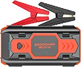Battery Starter for Car, NEXPOW 2500A 22000mAh Portable Car Jump Starter Q9B (up to 8.0L Gas/8L Diesel Engines) 12V Auto Battery Booster Pack with USB Quick Charge 3.0, Type-C