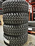 Set of 4 (FOUR) Kanati Mud Hog M/T Mud-Terrain Tires-LT275/65R20 126/123Q LRE 10-Ply